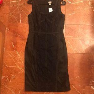 Cache stretch satin/lace dress size 8